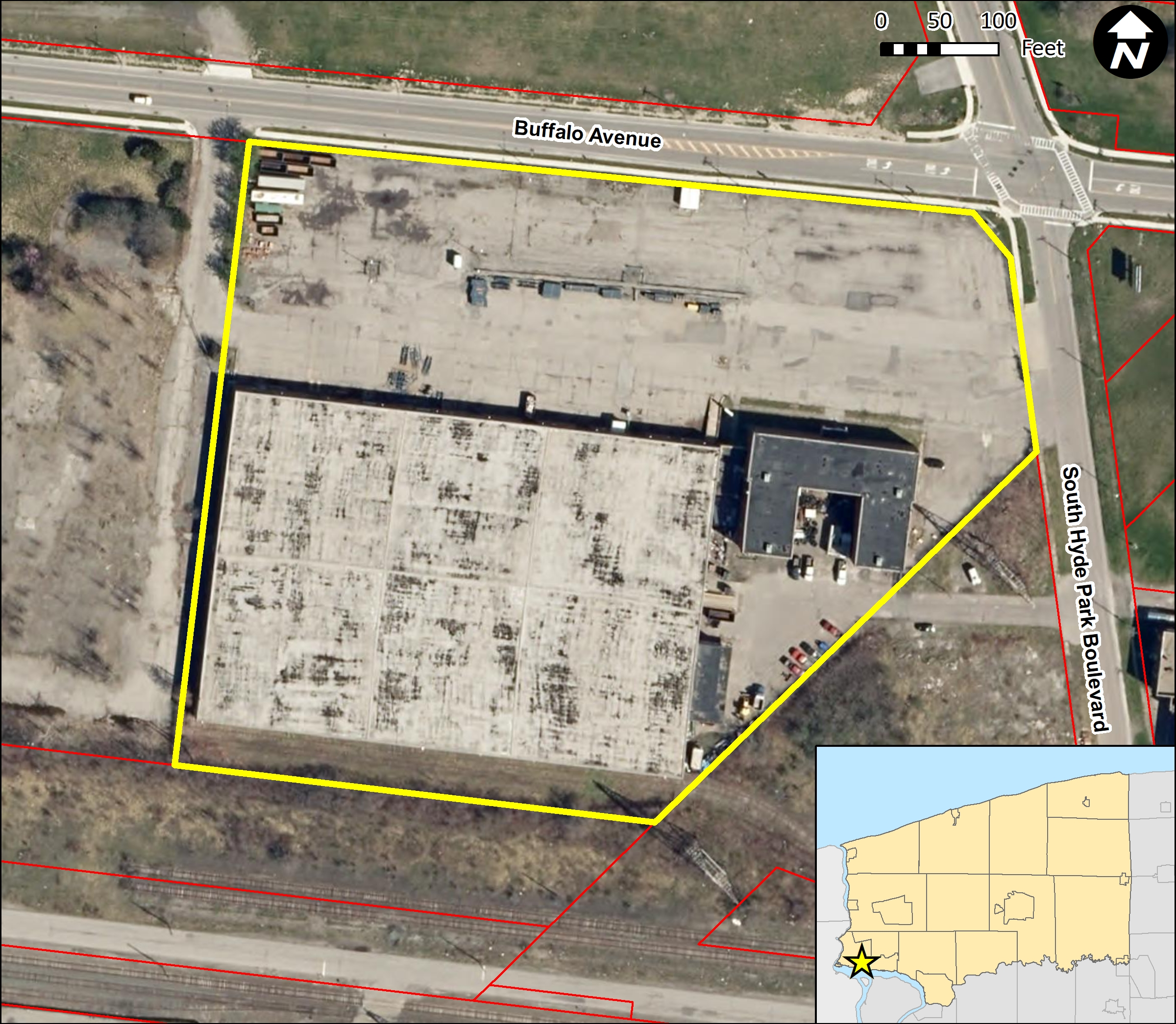 G&A Warehouse Site